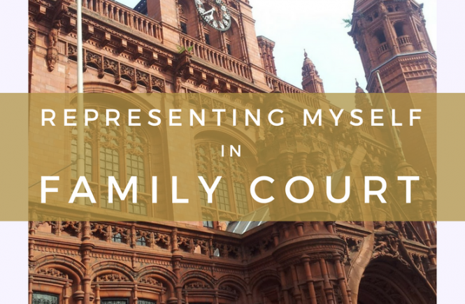 Representing myself in family court was a stressful experience at times, but extremely rewarding as well. Here's what I learned from facing solicitors and barristers on my own.