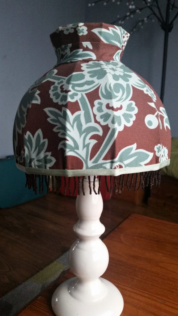 One of my handmade lampshades that I've listed on my new Etsy shop. Click on the picture to have a look!