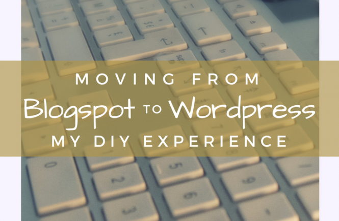 Blogger to WordPress: my DIY experience.
