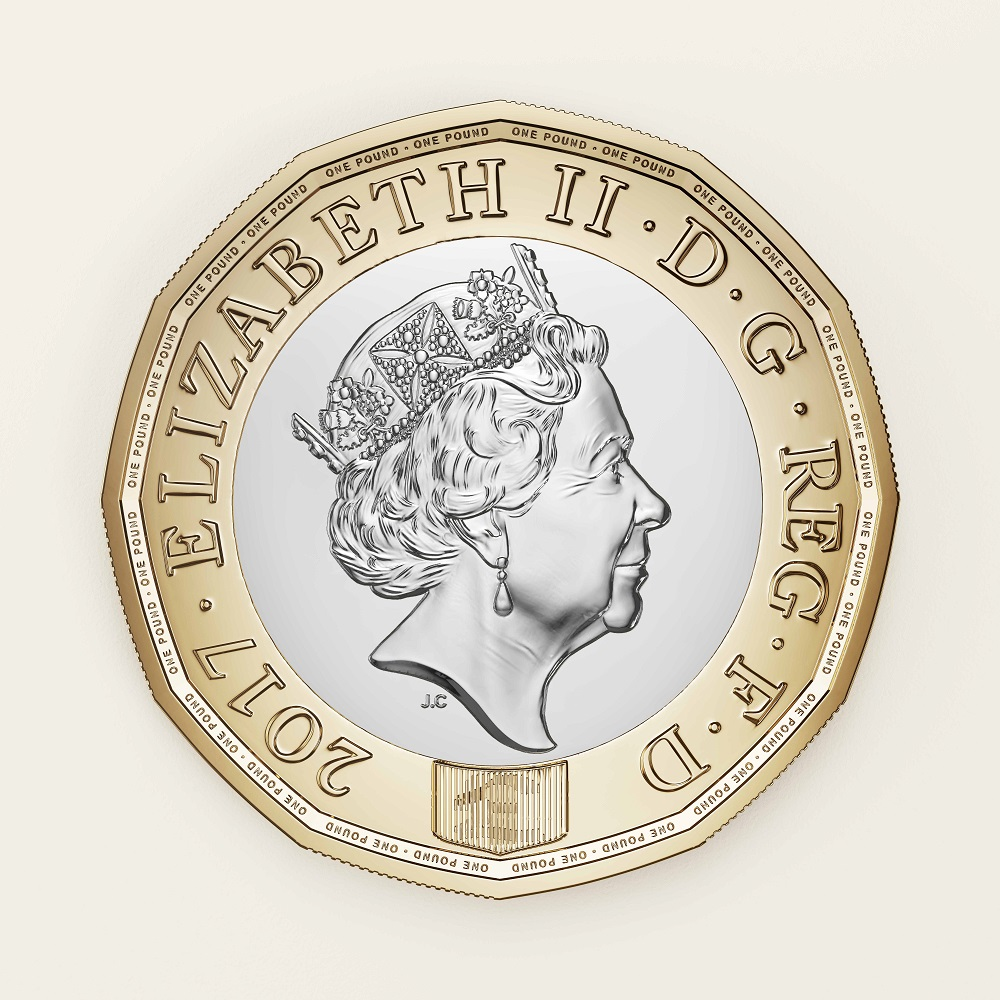 The New £1 Coin, Obverse