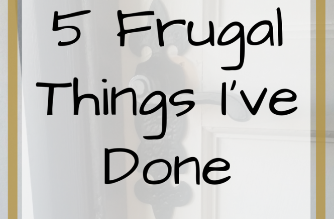 Click on the picture to read about the frugal things I've done this week to save my family some money!