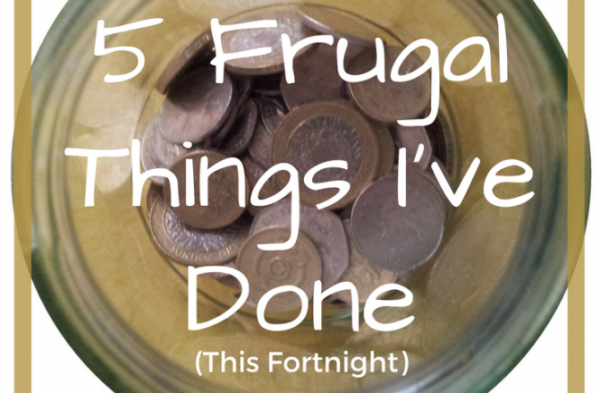 Click on the picture to read about my budget-conscious activities for the last two weeks - our frugal fortnight!