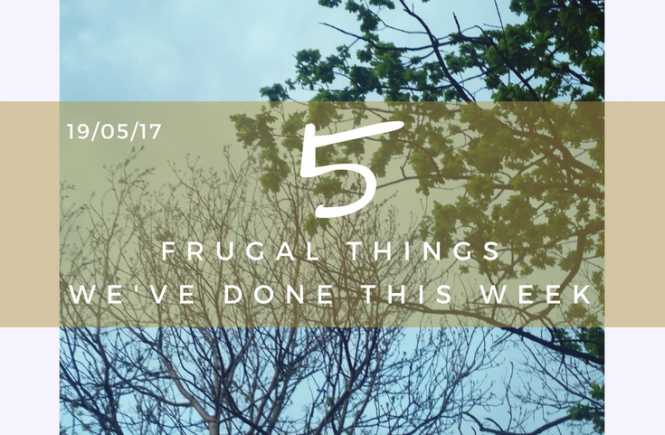 Click on the picture to read my pick of 5 frugal things my family did this week.