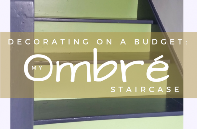 Click on the picture to read about how I created my colour gradient stairs.