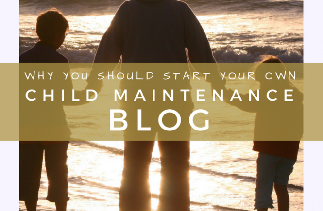 Here's why I think you should start your own child maintenance blog if you've been struggling with the UK's Child Maintenance Service.