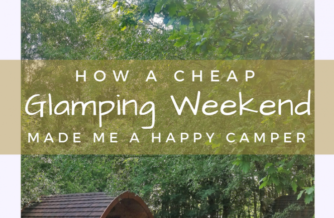 How a cheap glamping weekend at Woodhouse Farm near Ripon changed my mind about camping, and helped me recharge and reconnect with myself.