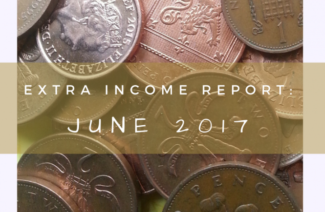 This is my extra income report for June 2017 - all of the things we've saved and earned besides our jobs, to show how simple thrifty living can be.