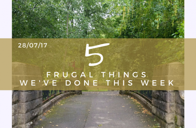 Discount coupons at B&Q feature in this week's five frugal things, as well as lots more DIY. Click on the picture to read more!