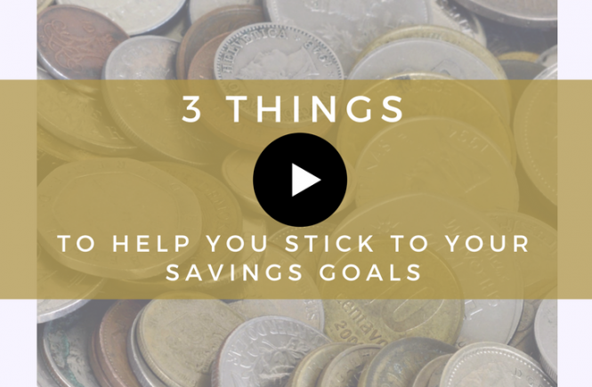 This video explains three ways you can help yourself to stick to your long-term savings goals without getting burnt out. Watch and read more at homelyeconomics.com,