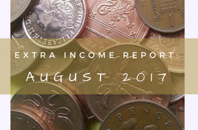 Our extra income report for August 2017. Read on for what we've done to generate extra income outside of our jobs.