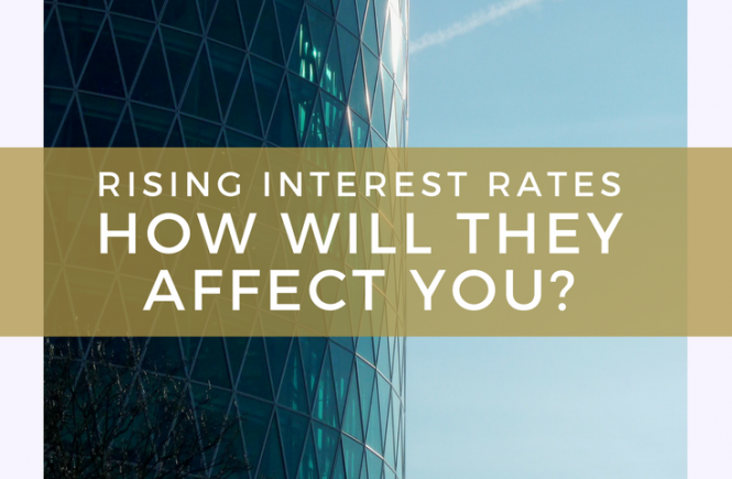Rising Interest Rates - How Will They Affect You? A guest post by Patty from Working Mother Life.