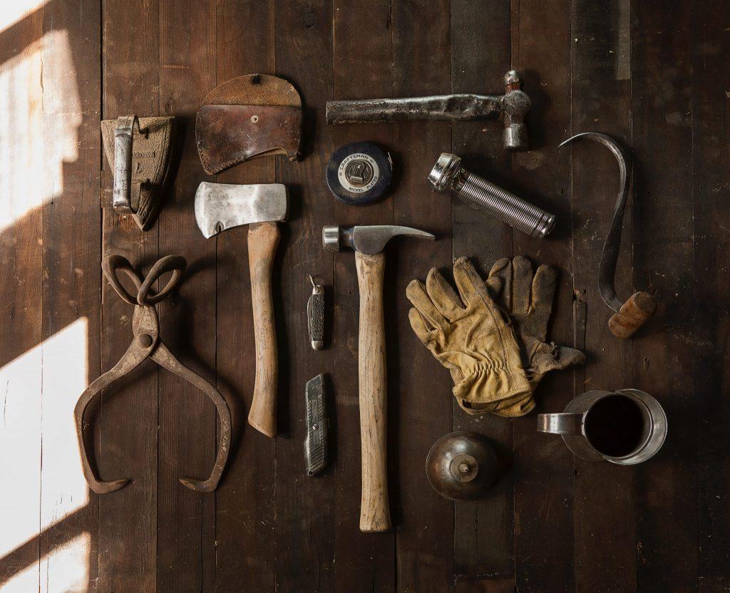 Vintage DIY tools