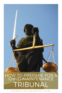 Here are some tips to help you prepare for your child maintenance tribunal.