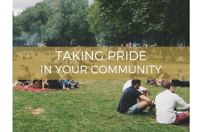 Taking pride in your community - ideas for getting involved.