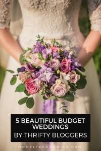 These 5 budget bloggers' weddings will inspire you to plan your thrifty wedding day!