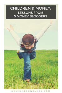 Children & Money: here are five posts by UK money bloggers about the topic of kids & money, from childcare to savings and more.