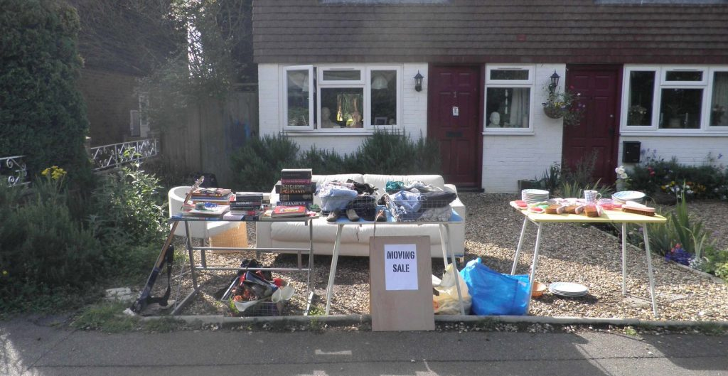 Your driveway could double up as a free boot sale pitch!