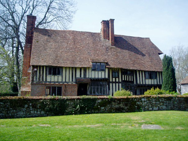 Half timbered house in Kent. Hidden costs of moving to the country.