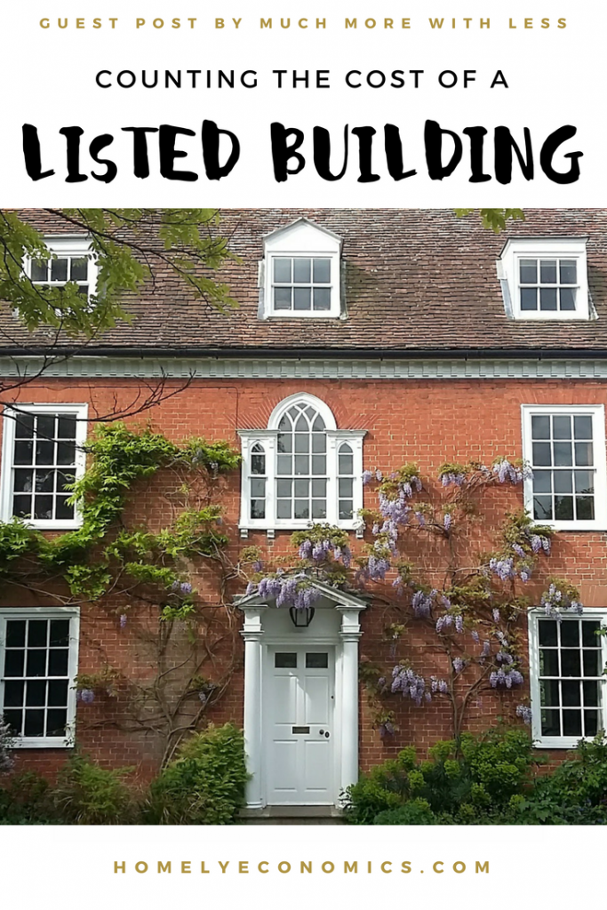 Counting The Cost Of A Listed Building Homely Economics