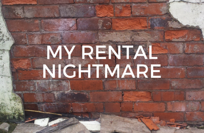My rental nightmare - our first home together was a bit of a damp, mouldy disaster! Here's why, and how we got out of it.