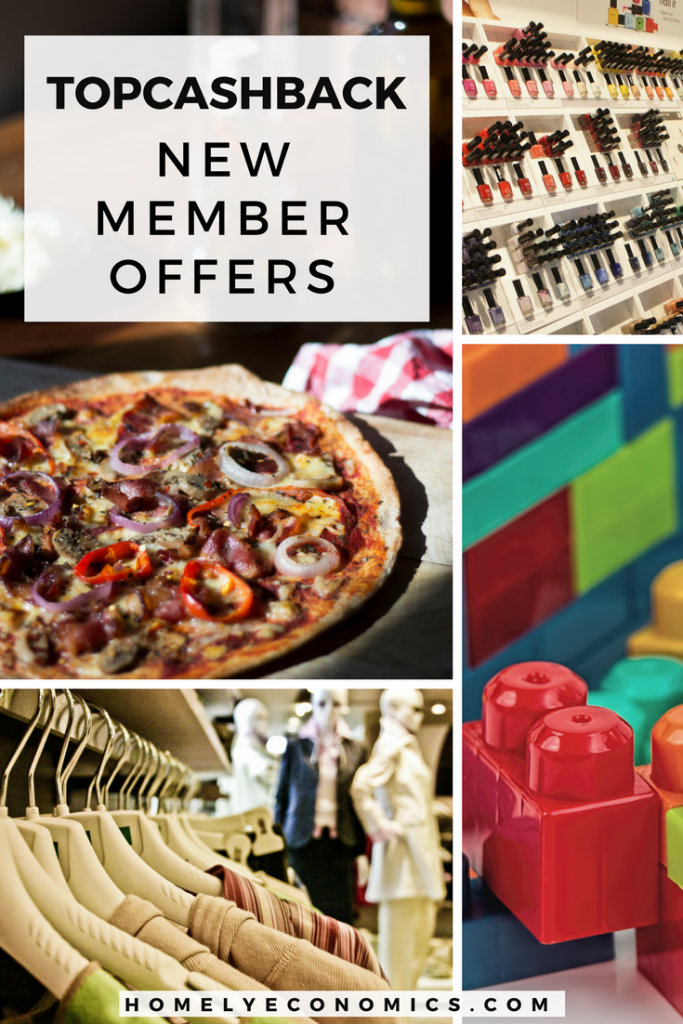 The week's best TopCashback new member offers, from food, baby items, makeup and more!