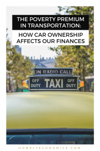 How does car ownership affect your finances? When priced out of car ownership, many are forced to rely on expensive modes of transportation and lose out in other ways as well.