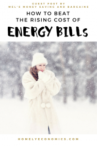 How to beat the rising cost of energy bills.