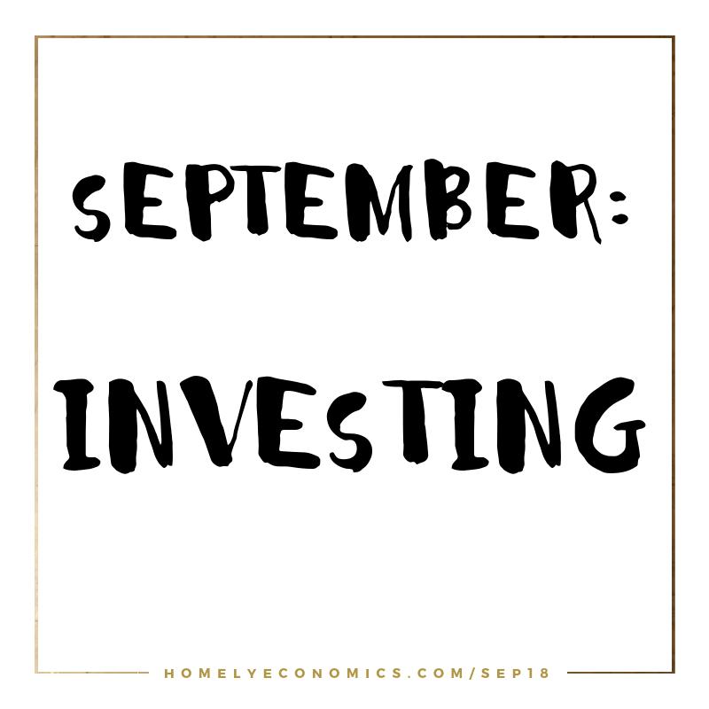September's Theme: Investing