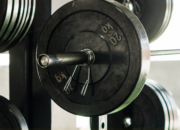 Weights on rack | Gift Guide For Bodybuilders