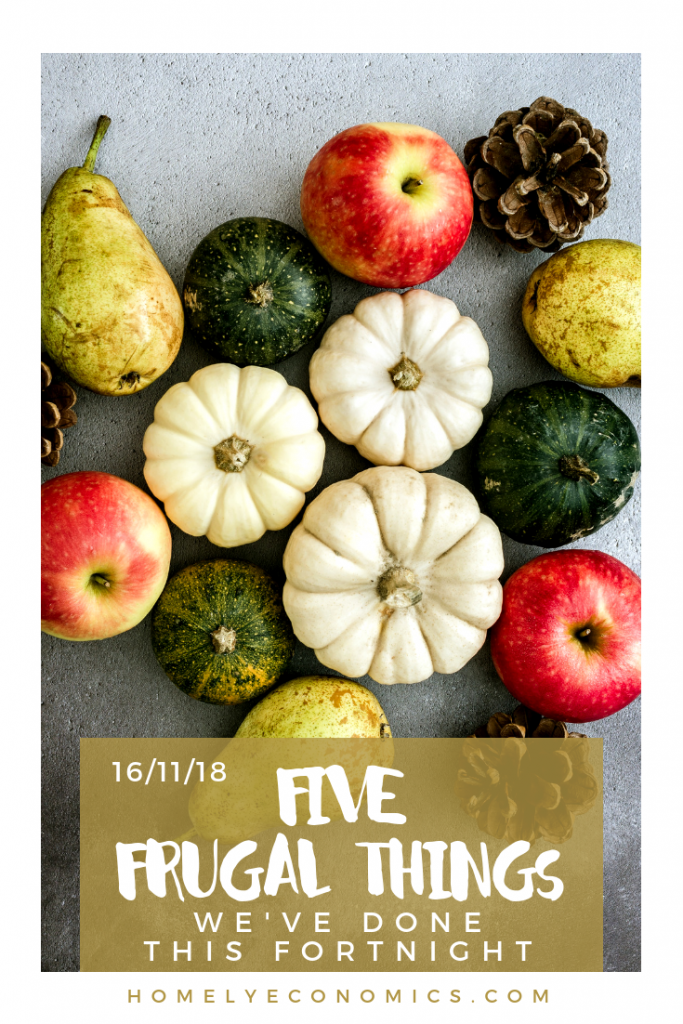 Five frugal things we've done: 10p pumpkins and goHenry