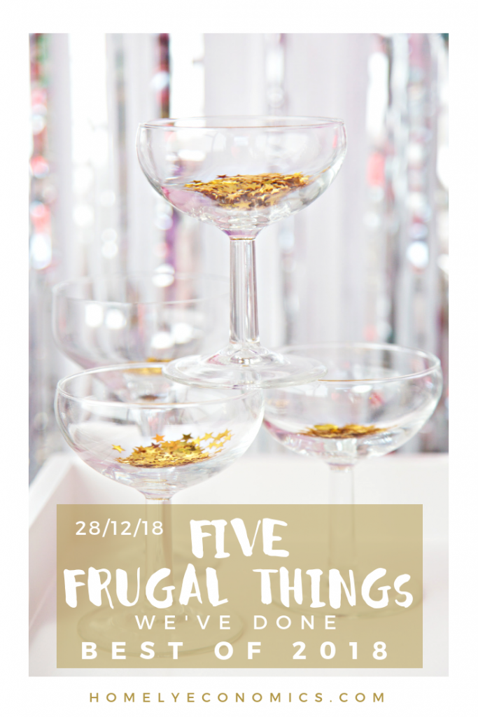 Five Frugal Things - The best of 2018