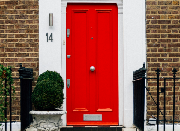 How To Add Value To Your Home | Red Front Door
