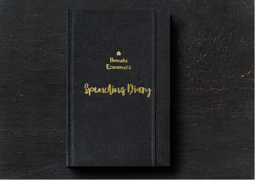 Homely Economics Spending Diary