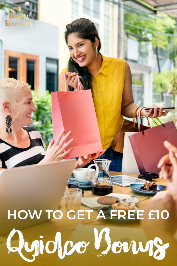 New Quidco member offers and deals - a £10 bonus for new Quidco members!
