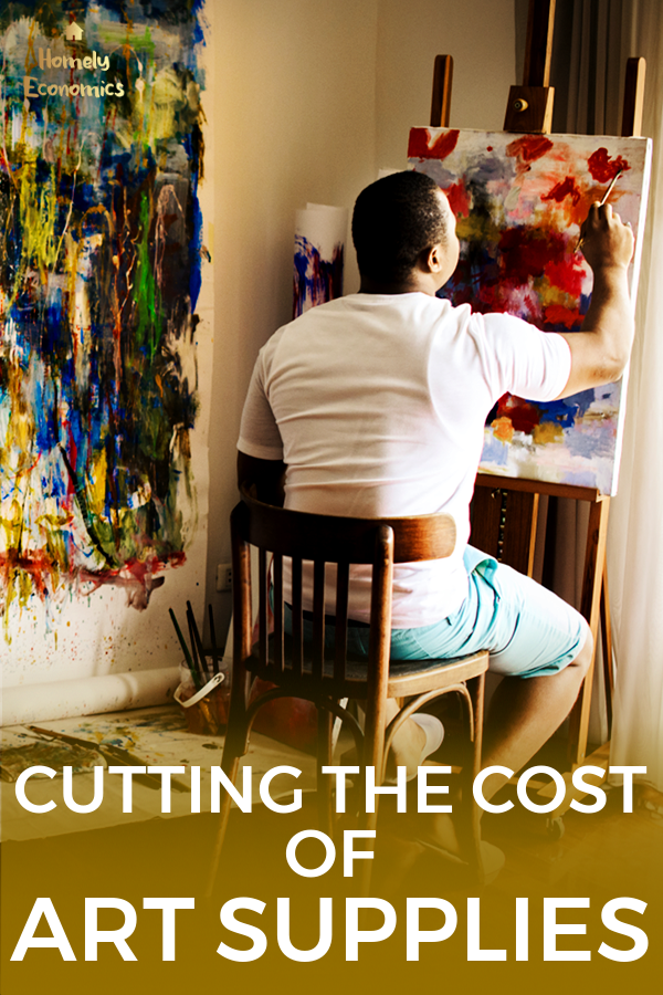 Cutting the cost of art supplies