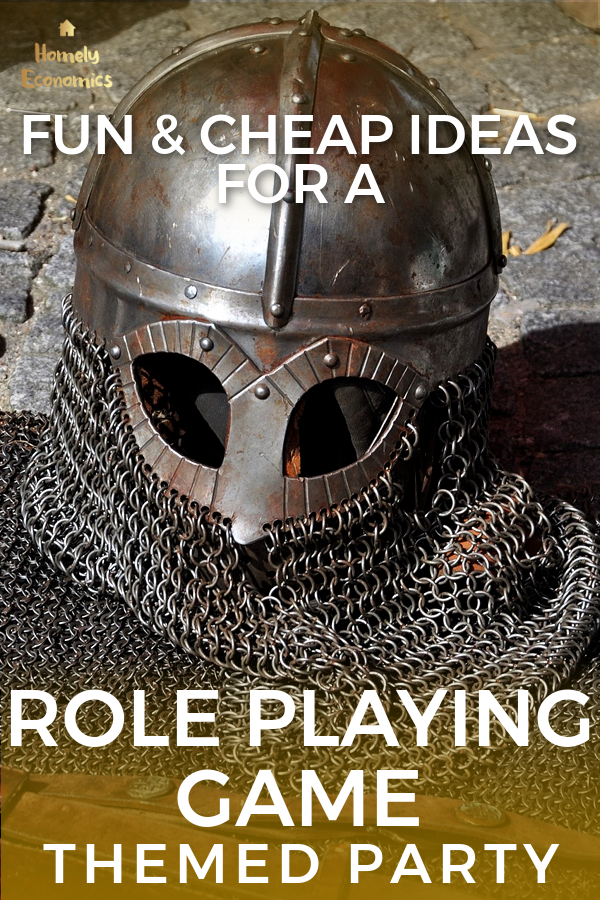 Fun & Cheap Ideas For A Role Playing Game Themed Party