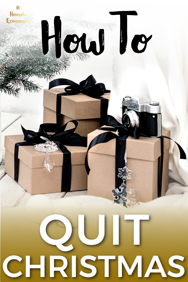 How to quit Christmas