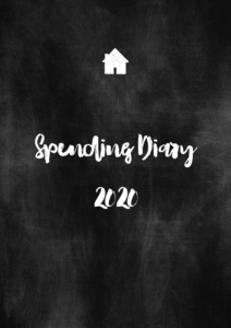 Get the 2020 Spending Diary printable.