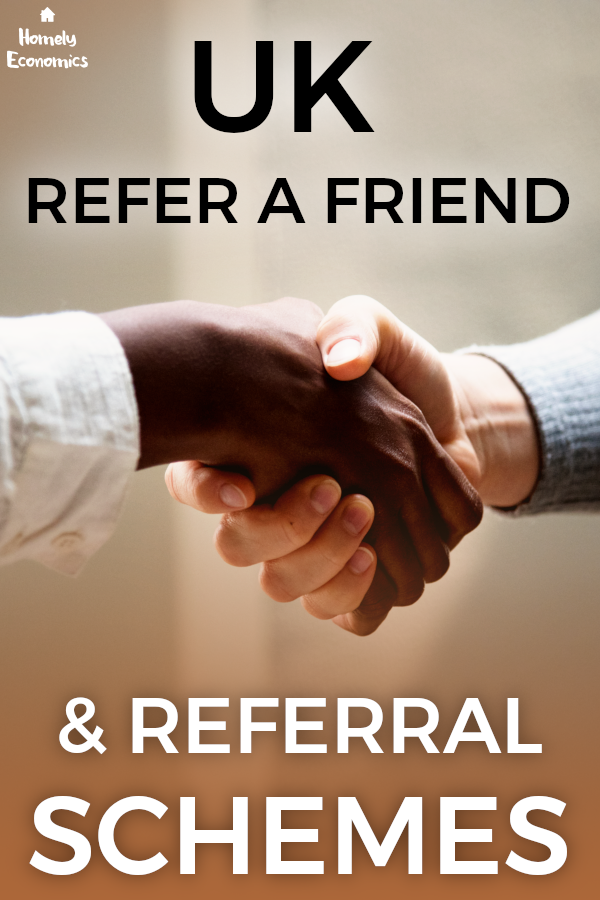 The best UK referral codes and refer a friend schemes